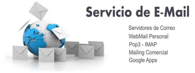 Servicios de WebMail TheFactoyWeb