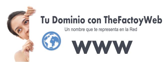 Adquisición de Dominios en TheFactoyWeb