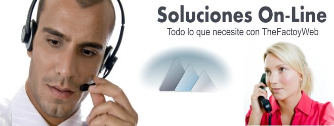 Soluciones On-Line en TheFactoyWeb