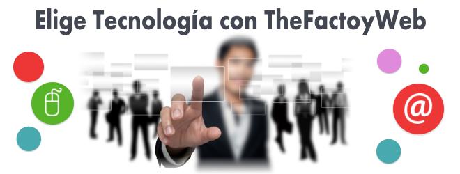 Tecnología en TheFactoyWeb