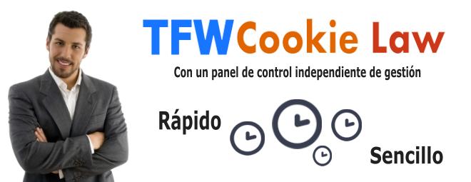 Script Editable Ley de Cookies