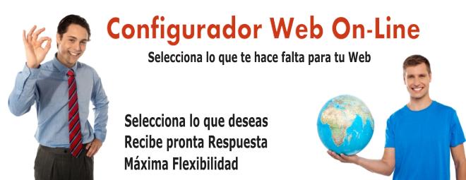 Configura tu Web On-Line