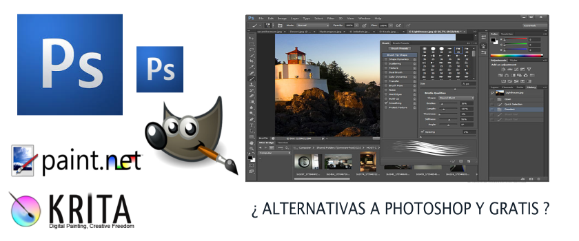 Alternativas Libres a PhotoShop